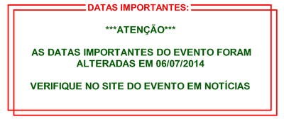 Banner - datas importantes